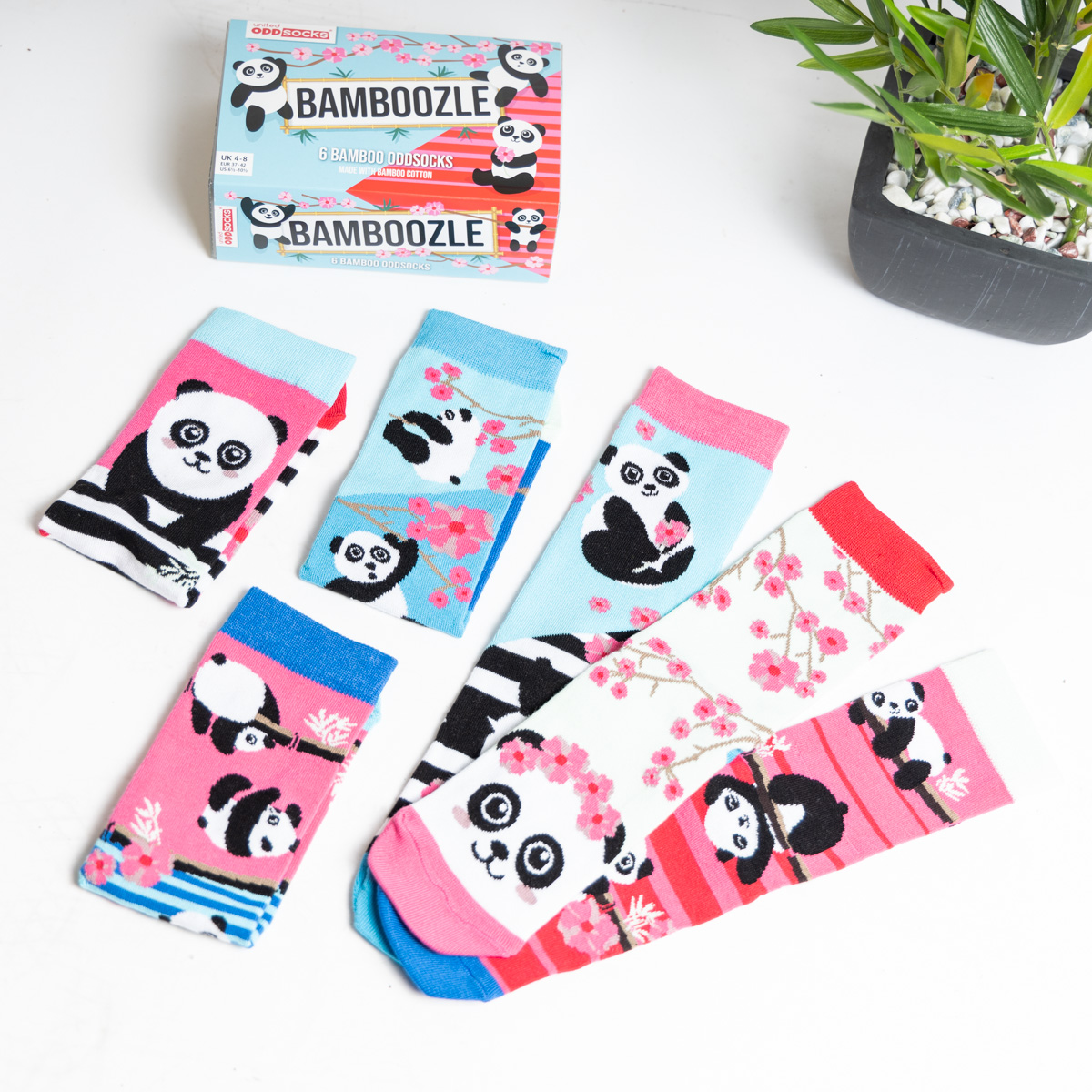 Bamboozle Panda-Socken