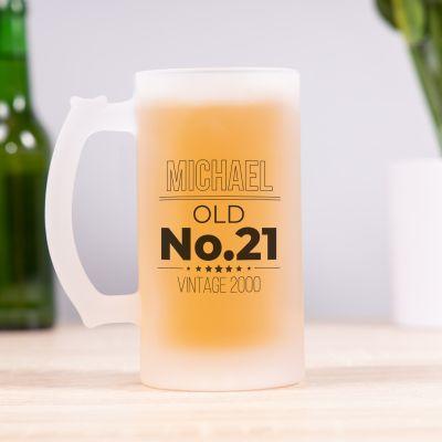 Geburtstagsgeschenke zum 30. Geburtstag personalisierbarer Bierkrug