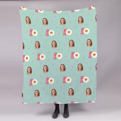 Kleine Decke Multi-Gesicht mit verschiedenen Hintergründen