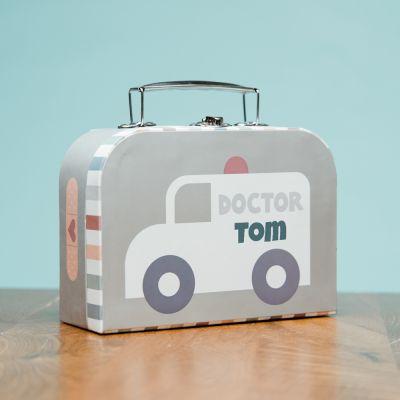 Mini-Arztkoffer mit Text