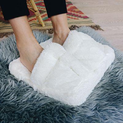 Geschenk für Freundin Fußmassage Gerät aus Plüsch