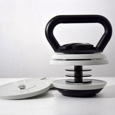 Kettlebell Set mit einstellbarem Gewicht