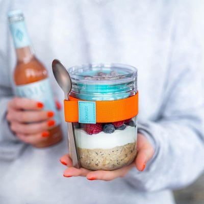 Lunch- oder Vorratsglas mit Extra-Schüsselchen
