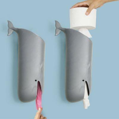 Moby Wal Toilettenpapierhalter