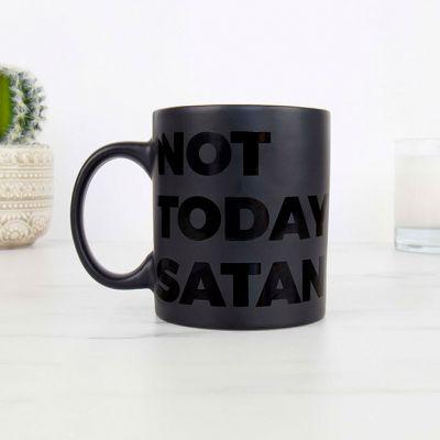Not Today Satan Tasse