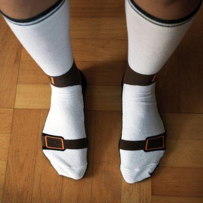witzige geschenke sandalensocken