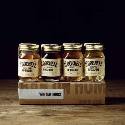 O'Donnell Moonshine Winterliches Likör-Set