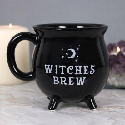 Hexenkessel Tasse in Schwarz