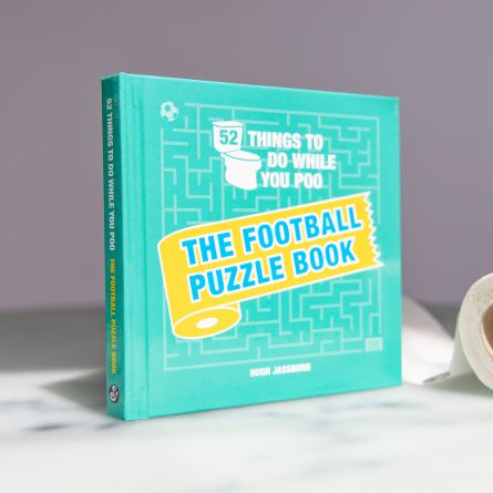 Fußball Puzzle-Buch für die Toilette