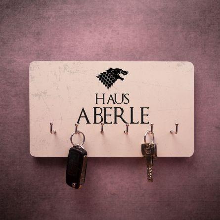 Personalisierbares Schlüsselbrett mit Wappen