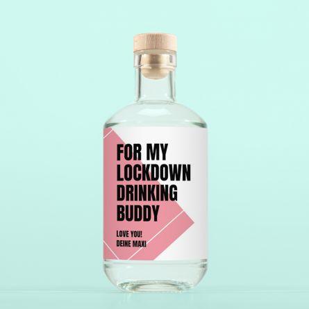 Gin mit Text