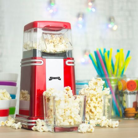 Retro Mini-Popcorn-Maschine