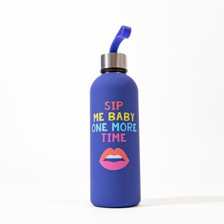 Sip Me Baby Wasserflasche aus Metall