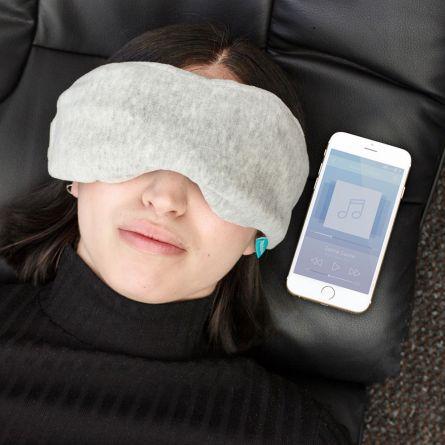 Schlafmaske mit Bluetooth-Kopfhörern