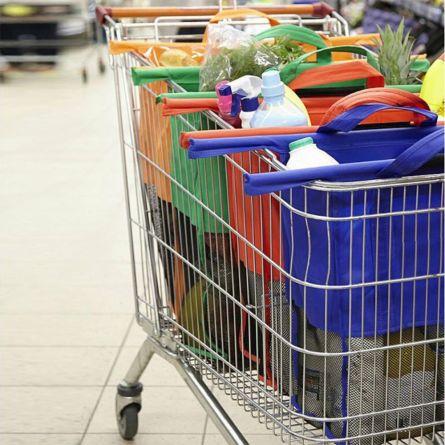 Die Multi-Tasche für den Einkaufswagen