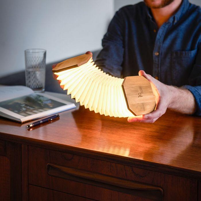 Gingko Akkordeon Lampe