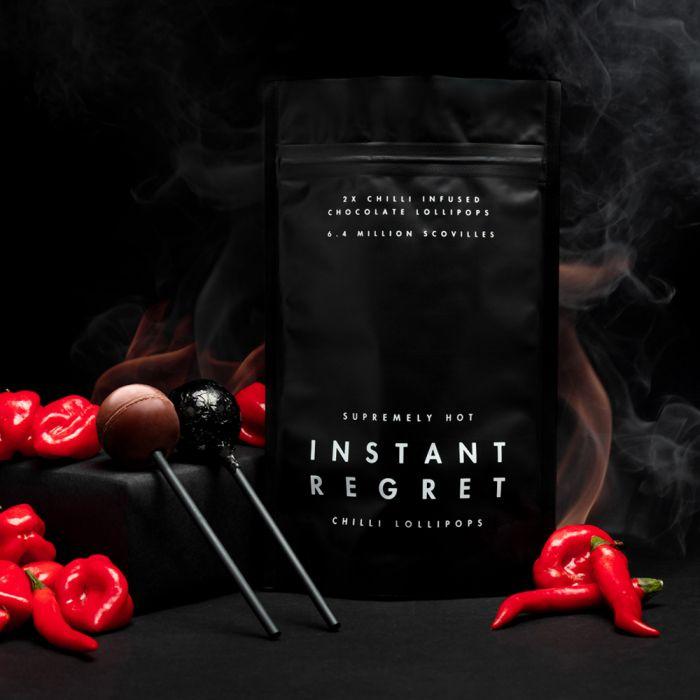 Die schärfsten Chili-Lollipops der Welt