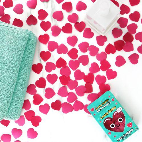 Herzchen Bade-Konfetti