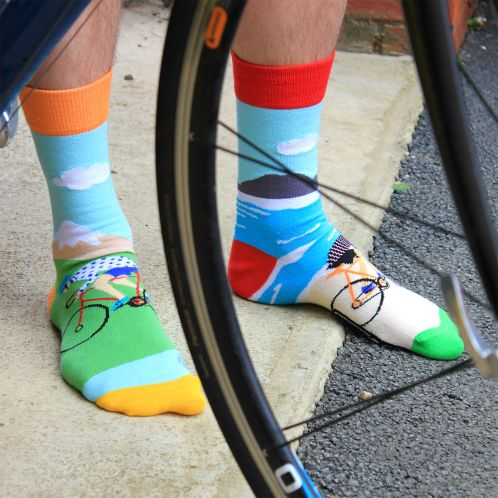 On Your Bike-Socken
