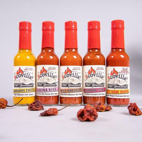 Scovilla Hot Gourmet Chili-Saucen