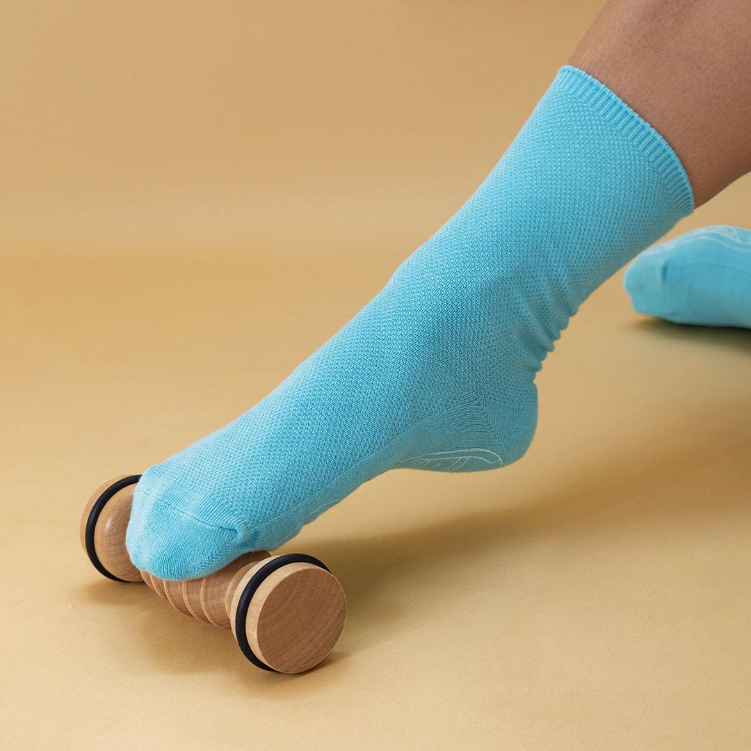 Reflexzonen-Fußmassage Set