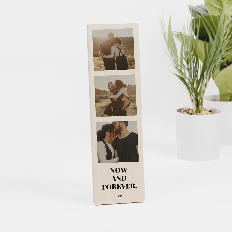 Hochzeitsgeschenke personalisiertes Hochzeitsgeschenk mit Fotos und Text