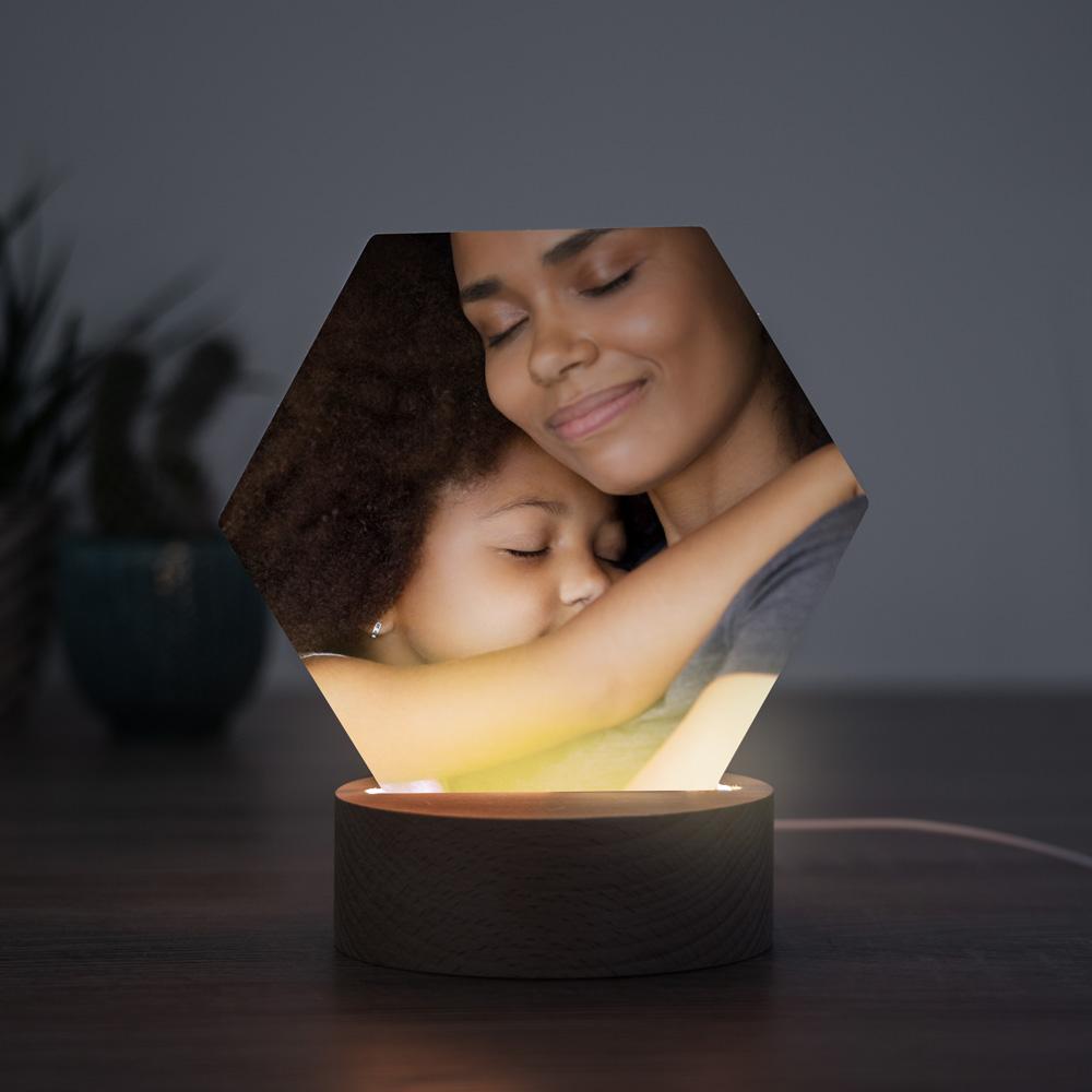 Geschenke für Mama LED-Leuchte mit Foto