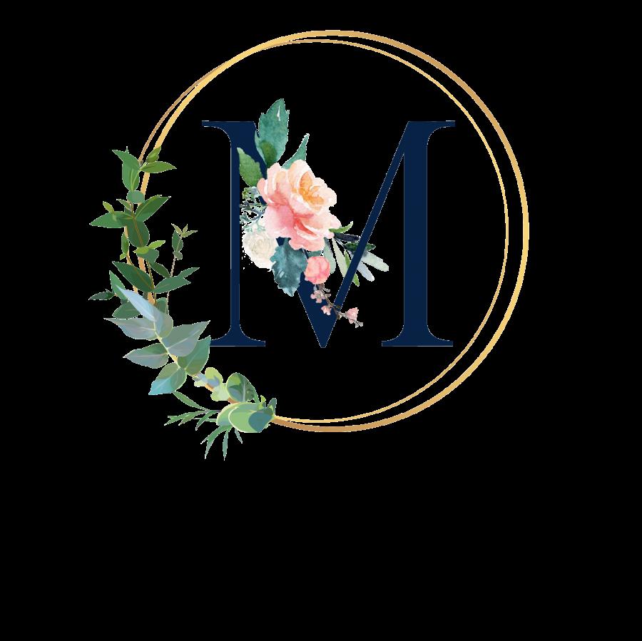 Pralinenbox mit Monogramm - M