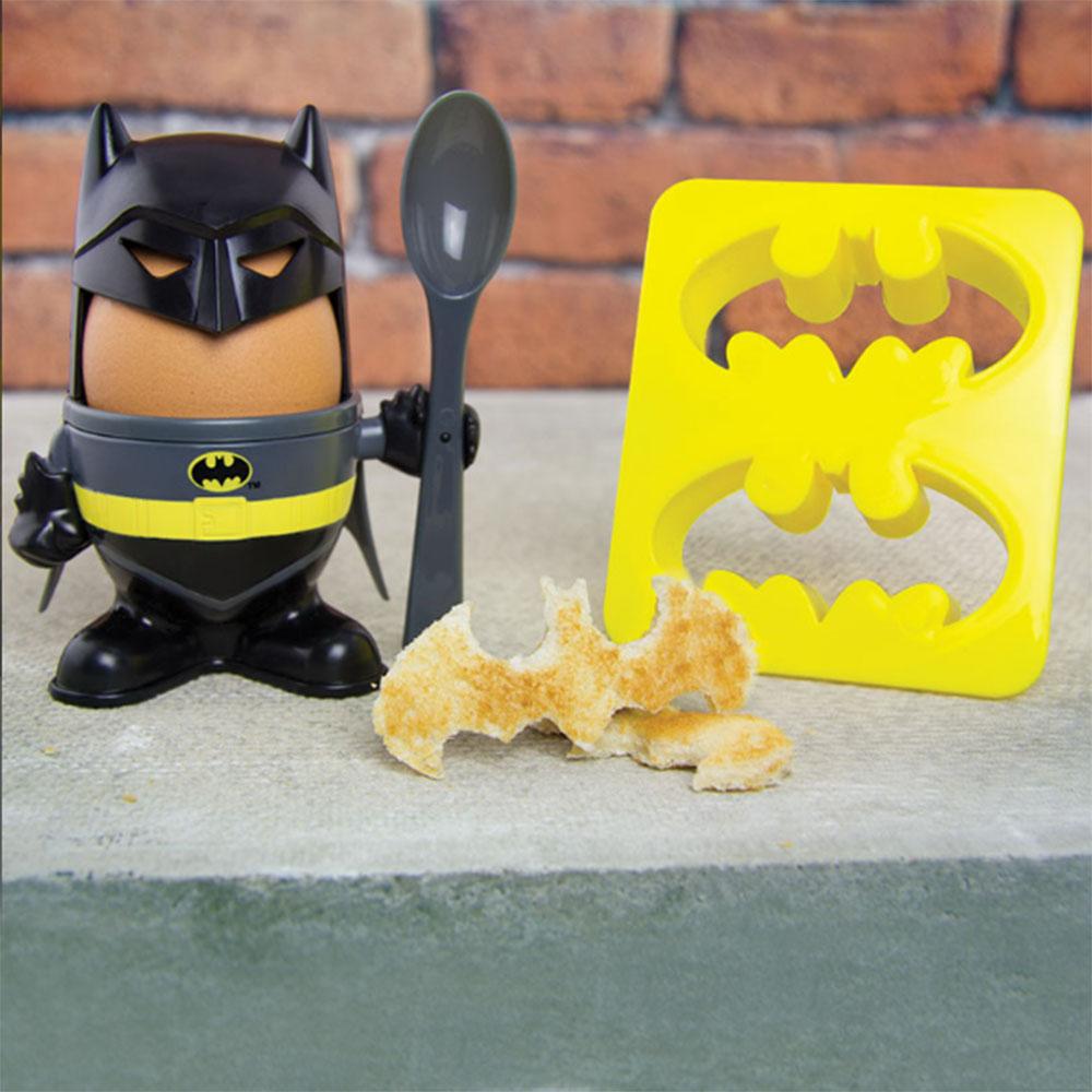 Image of Batman Eierbecher mit Toast-Schablone