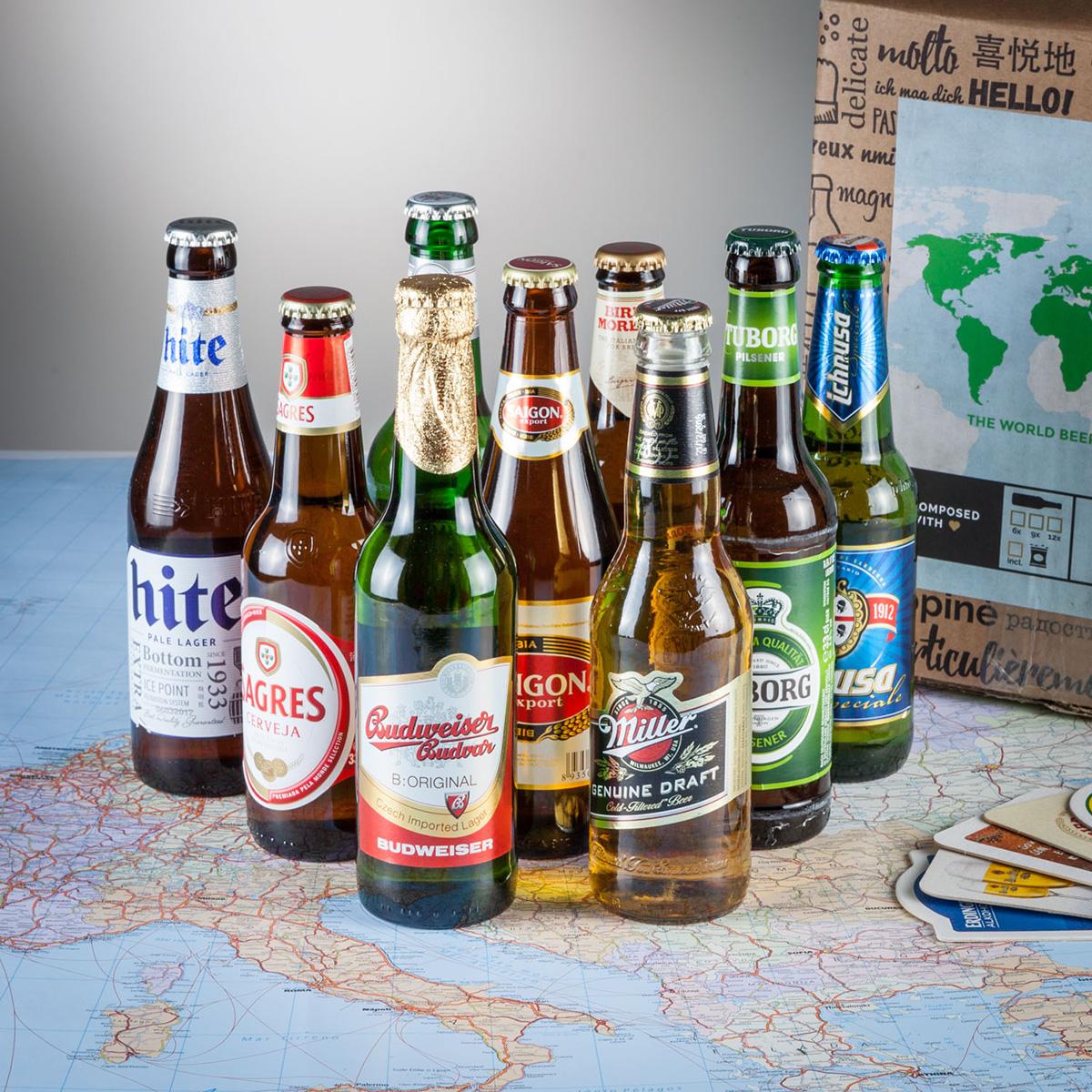 Image of Bier Weltreise Geschenkbox
