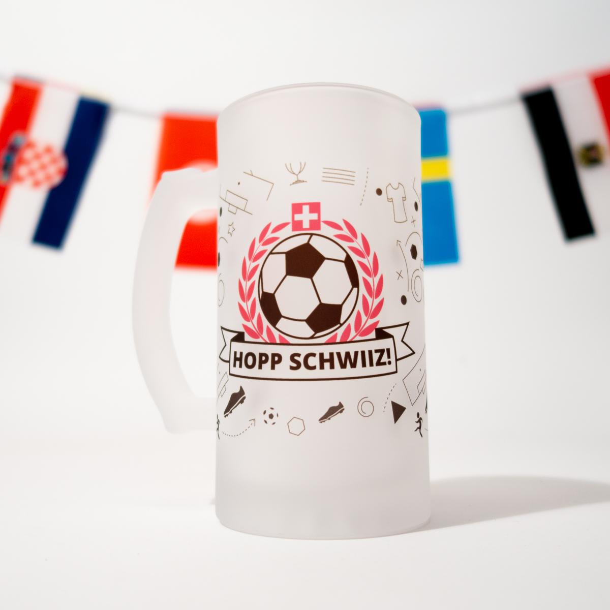 Image of Bierkrug Hopp Schwiiz