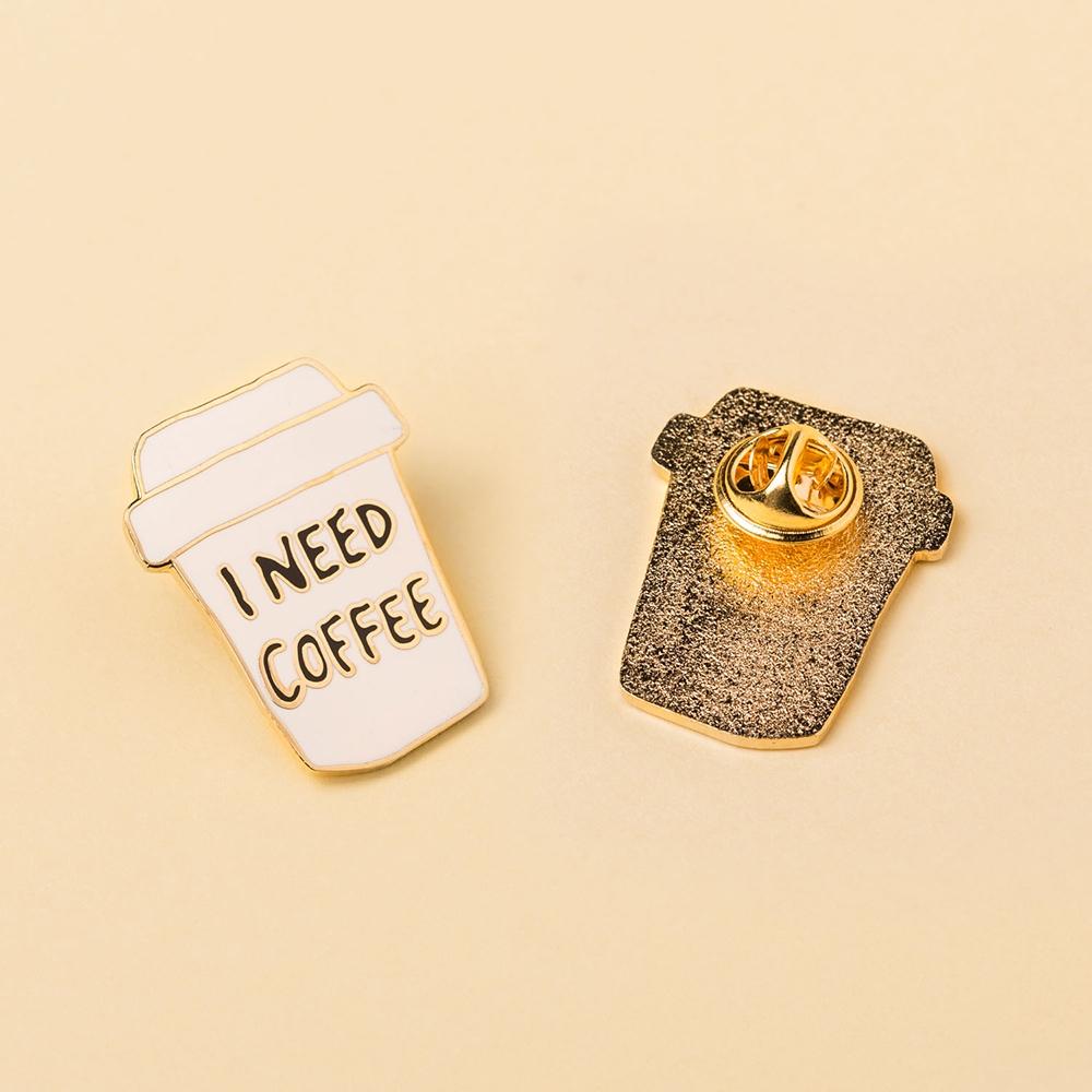 Image of I Need Coffee Anstecknadel