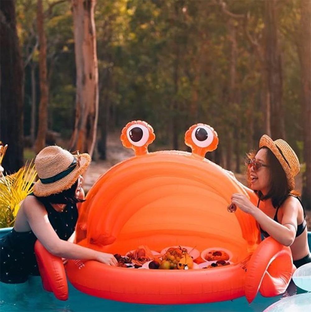 Image of Aufblasbare Krabbe für Kinder