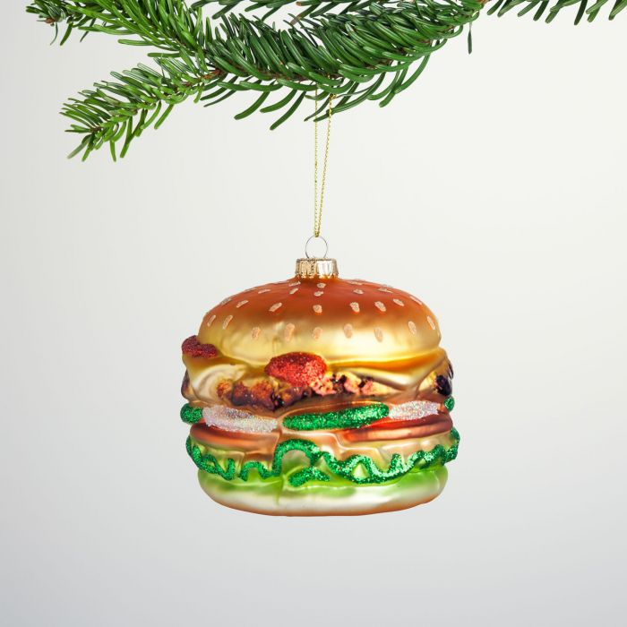 Maxi Burger Christbaumschmuck