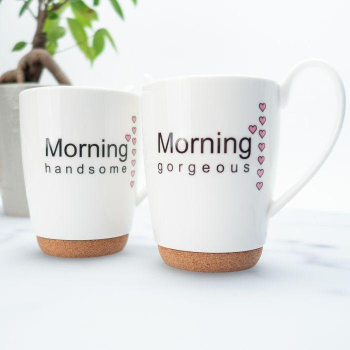 Guten Morgen Kaffeebecher