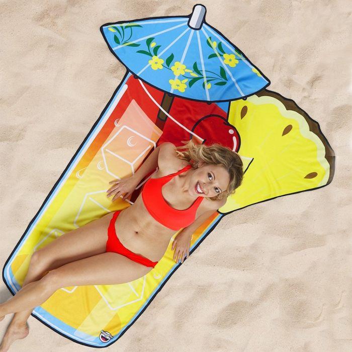 Sommercocktail Strandtuch