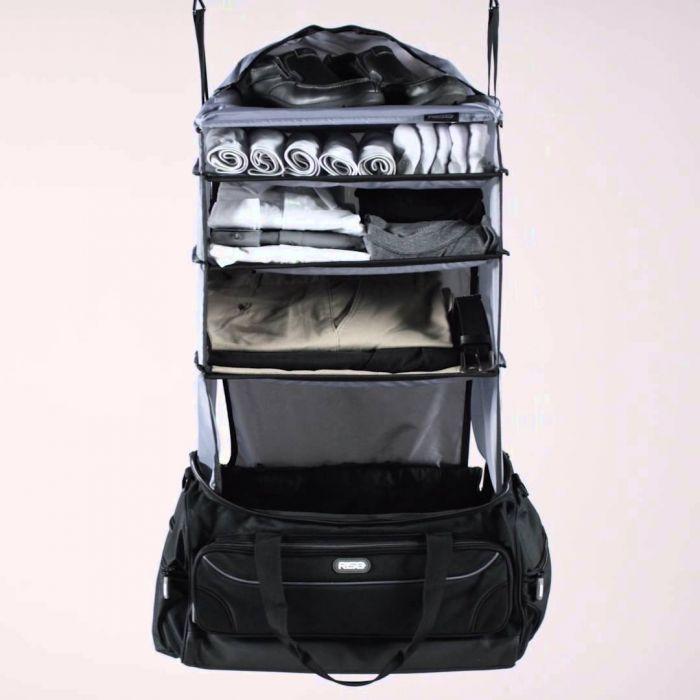 Weekender Reisetasche mit integrierter Garderobe