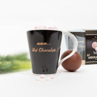 Schokoladenbombe mit Tasse Geschenk-Set