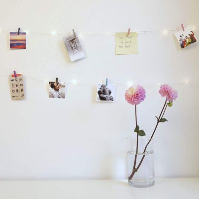 Mini-Wäscheklammern LED-Kette
