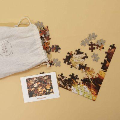 Calm Club Puzzle Herbstlaub