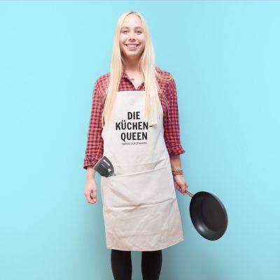 Personalisierbare Küchenschürze Der Küchenrebell
