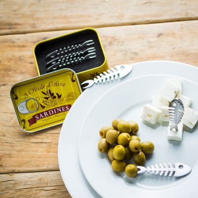 Snack Piekser Sardinen 6er Set