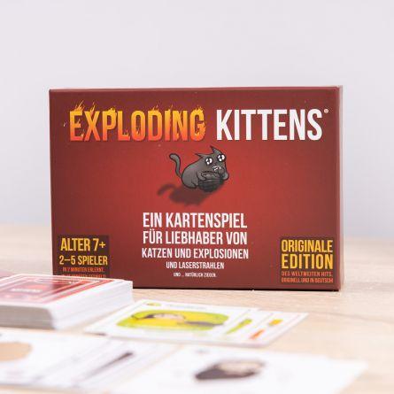 Exploding Kittens Kartenspiel