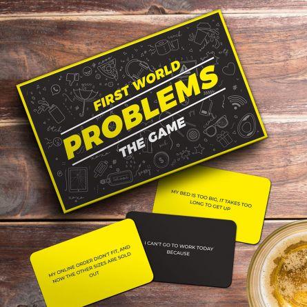 Partyspiel Dringende Weltprobleme