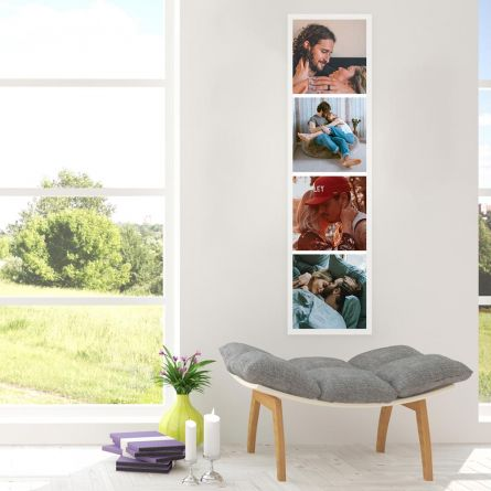 Personalisierbares Fotostrip Poster