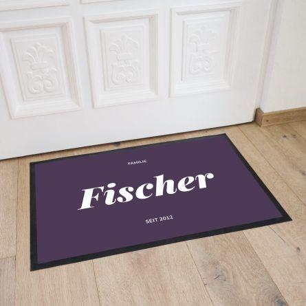 Fußmatte in verschiedenen Farben