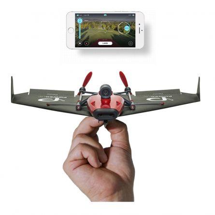 PowerUp FPV Papierflieger-Drohne mit VR Headset