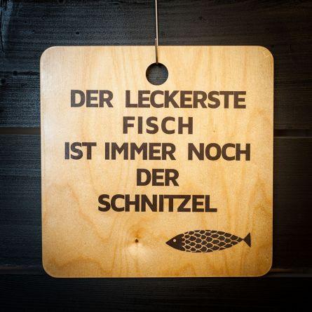 Schnitzel-Fisch Schneidebrett