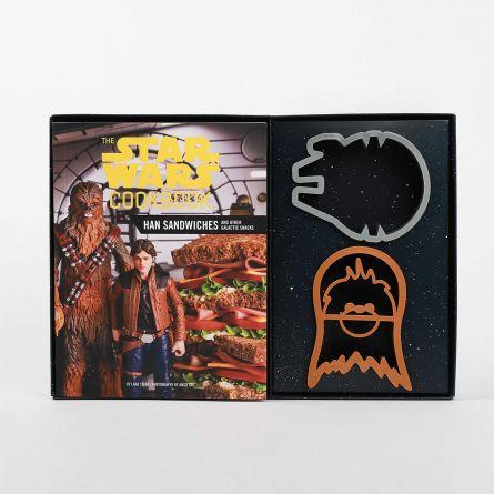 Star Wars Kochbuch mit Sandwich-Formen