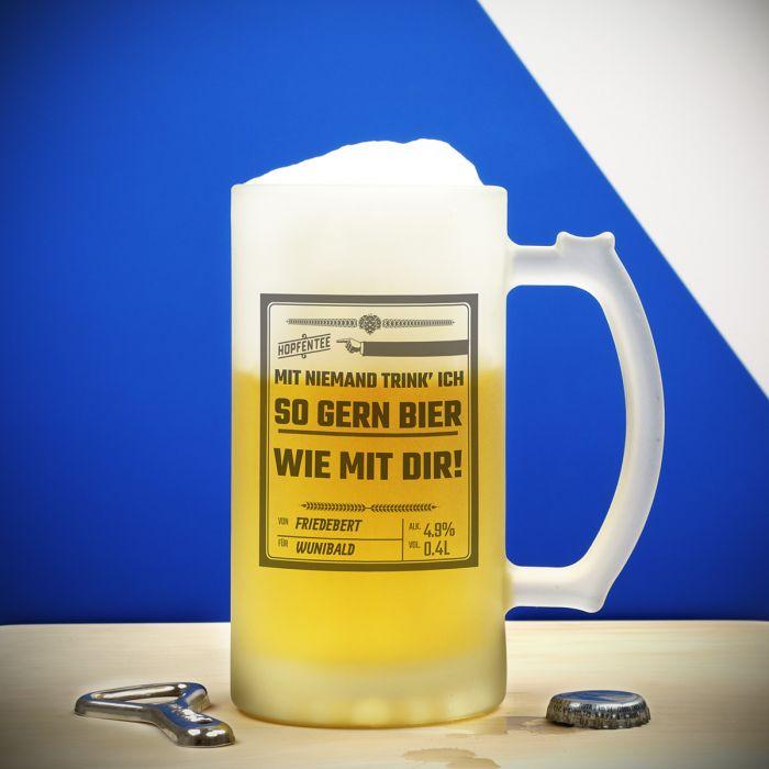 Personalisierbarer Bierkrug